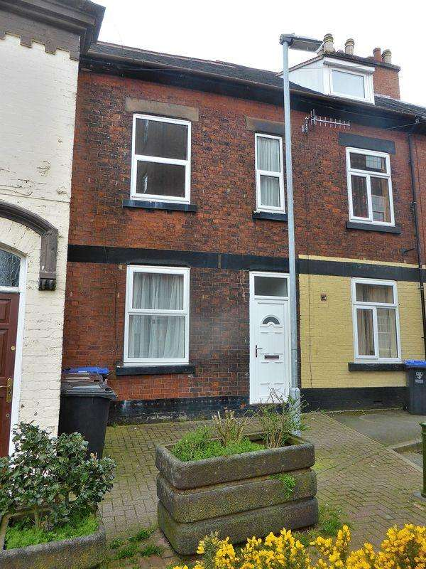 3 Bedrooms Terraced House for sale in Strangman Street, Leek