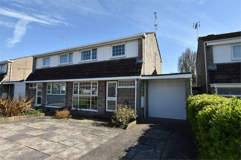 3 Bedrooms Semi Detached House for sale in The Willows, Nailsea, Bristol, North Somerset