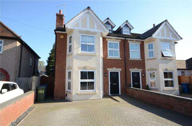 4 Bedrooms Semi Detached House for sale in Alwyn Road, Maidenhead, Berkshire