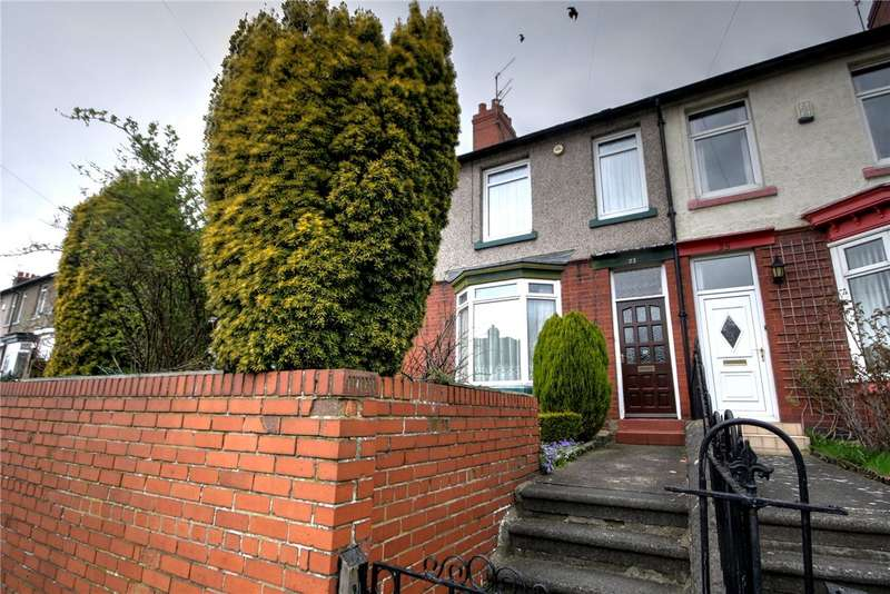 3 Bedrooms Terraced House for sale in St Andrews Road, Bishop Auckland, Co Durham, DL14
