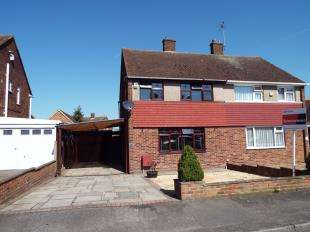 3 Bedrooms Semi Detached House for sale in Hoo Common, Chattenden, Rochester, Kent