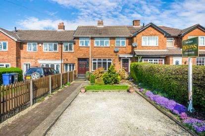 3 Bedrooms Terraced House for sale in Queen Street, Burntwood, Staffordshire
