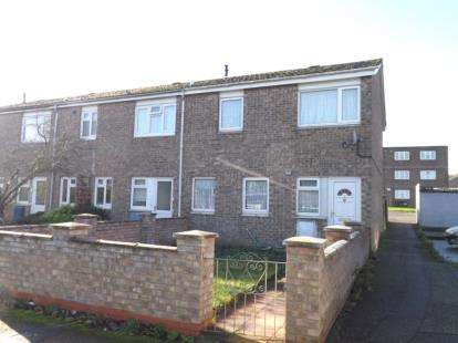 3 Bedrooms End Of Terrace House for sale in Dukes Road, Eaton Socon, St. Neots, Cambridgeshire