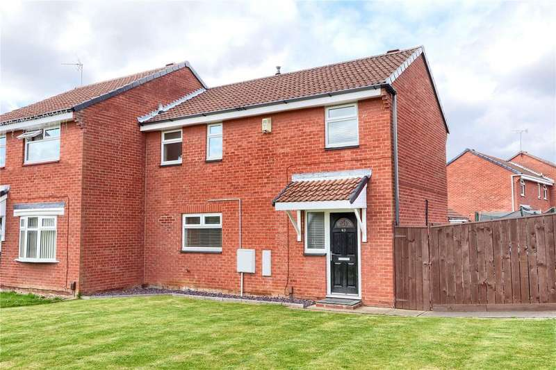 3 Bedrooms Semi Detached House for sale in Saxonfield, Coulby Newham