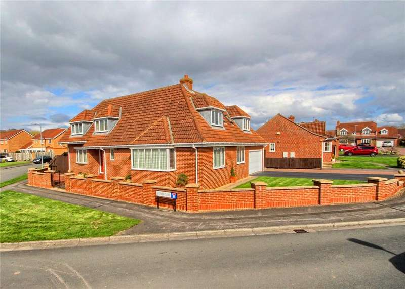 4 Bedrooms Detached House for sale in Foston Close, Norton