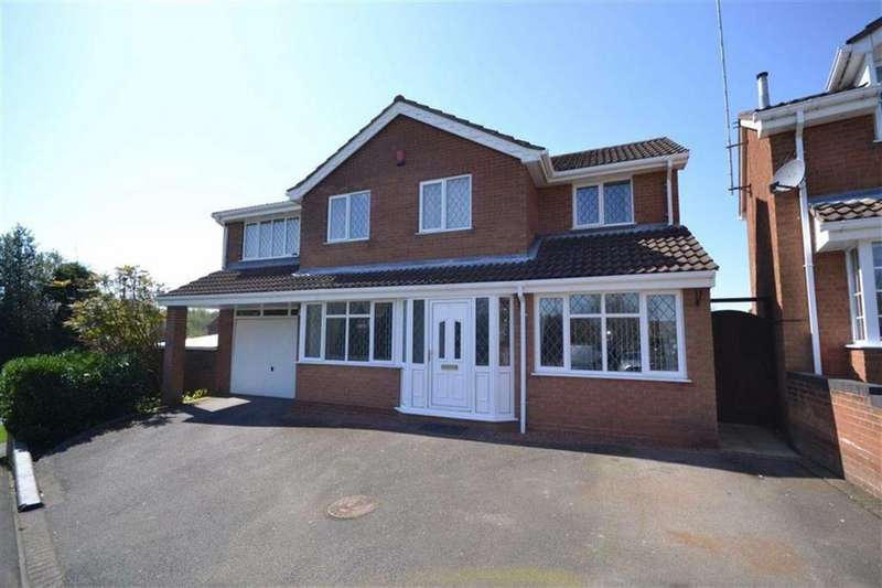 4 Bedrooms Detached House for sale in Buchan Close, Galley Common, Nuneaton