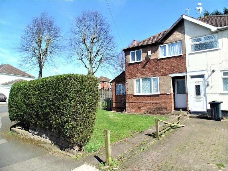 2 Bedrooms Semi Detached House for sale in Birdbrook Road, Great Barr, Birmingham