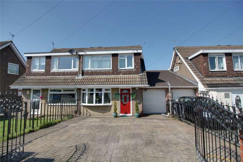 3 Bedrooms Semi Detached House for sale in Bowfell Close, Eaglescliffe