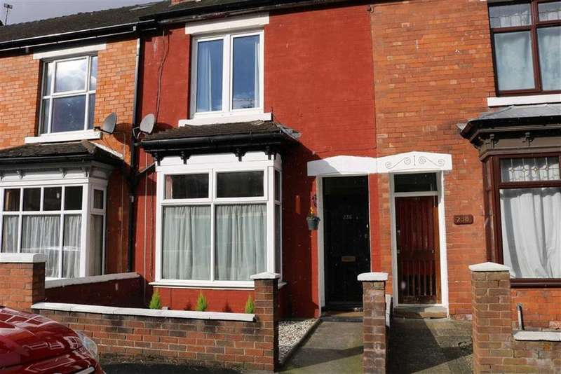3 Bedrooms Terraced House for sale in Oxford Gardens, Stafford