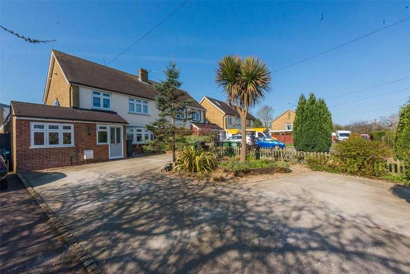 3 Bedrooms Semi Detached House for sale in Bell Meadow, Maidstone, Kent, ME15