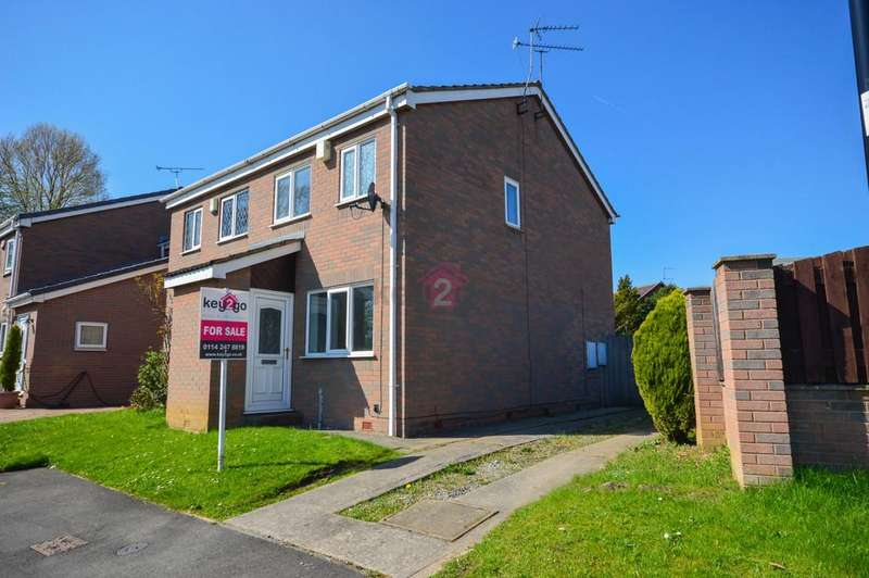 2 Bedrooms Semi Detached House for sale in Bramshill Close, Sothall, Sheffield, S20