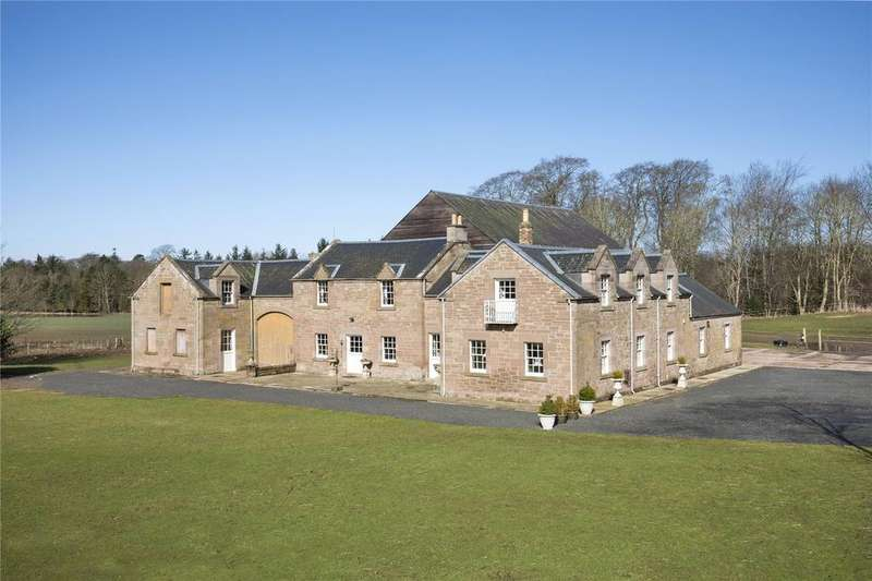 5 Bedrooms Detached House for sale in The Coach House Stables, Swinton House, Duns, Berwickshire, TD11