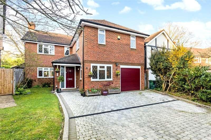 5 Bedrooms Detached House for sale in Hazel Road, Park Street, St. Albans, Hertfordshire, AL2