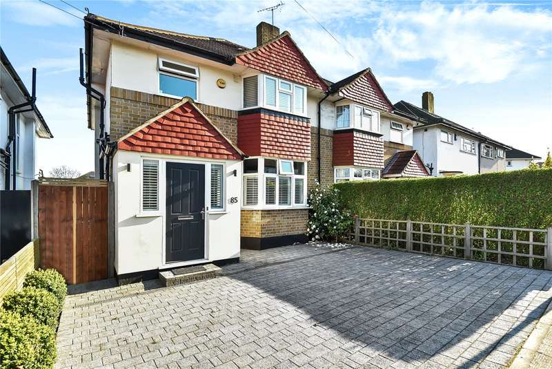 3 Bedrooms Semi Detached House for sale in Southbourne Gardens, Ruislip, Middlesex, HA4