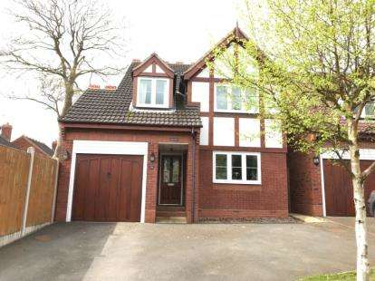 4 Bedrooms Detached House for sale in Crabtree Lane, Sidemoor, Bromsgrove, Worcs