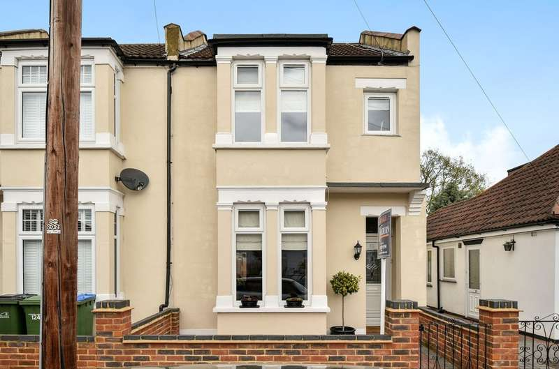 3 Bedrooms End Of Terrace House for sale in Blanmerle Road, London