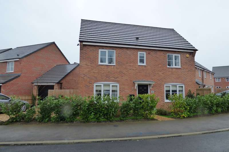 3 Bedrooms Detached House for sale in Slate Drive, Burbage, Hinckley, LE10