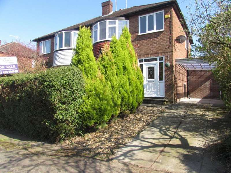 3 Bedrooms Semi Detached House for sale in Calve Croft Road, Peel Hall, Manchester, M22