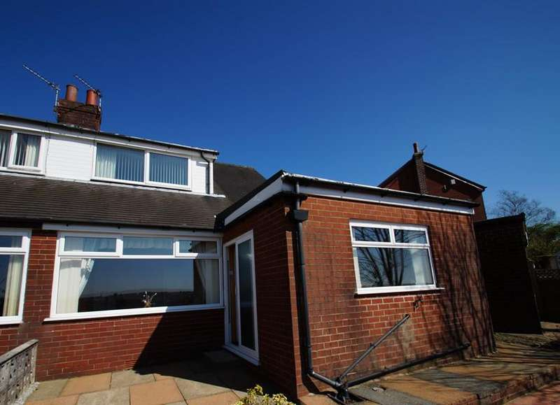 2 Bedrooms Semi Detached Bungalow for sale in Clayton Close, Sprnghea OL4