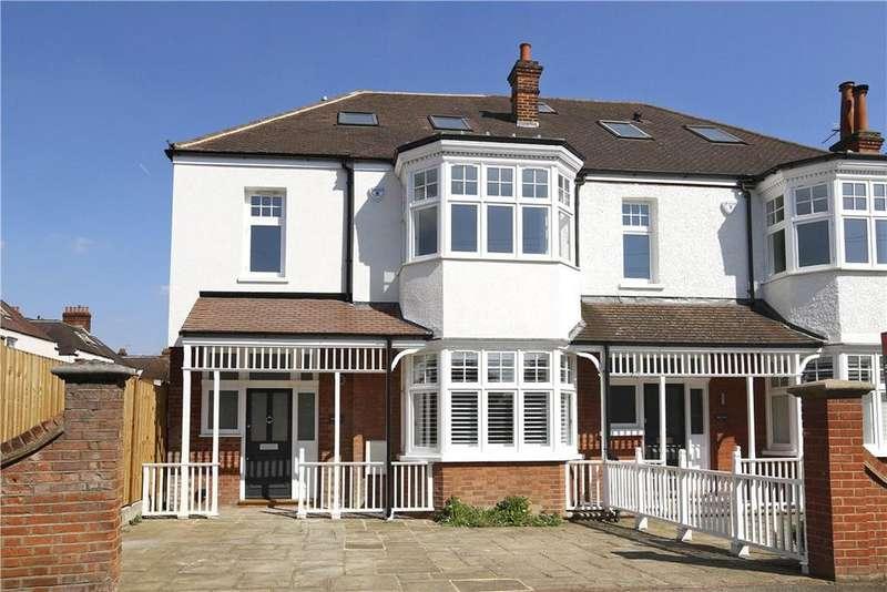4 Bedrooms Semi Detached House for sale in Oakwood Road, London, SW20
