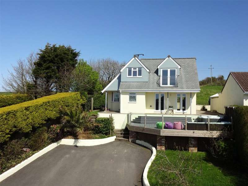 4 Bedrooms Detached House for sale in Cross Park, Berrynarbor