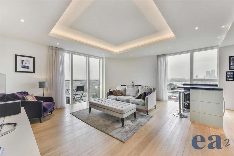 2 Bedrooms Apartment Flat for sale in Park Vista Tower, Cobblestone Square, London
