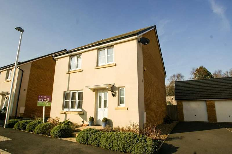 4 Bedrooms Detached House for sale in Ffordd Y Meillion, Penllergaer, Swansea, SA4