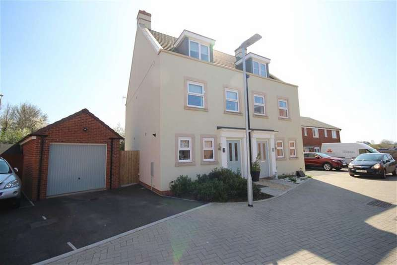 3 Bedrooms Town House for sale in Ray Close, Ridgeway Farm, Swindon