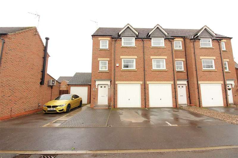 4 Bedrooms End Of Terrace House for sale in Jefferson Way, Banner Brook Park, Coventry