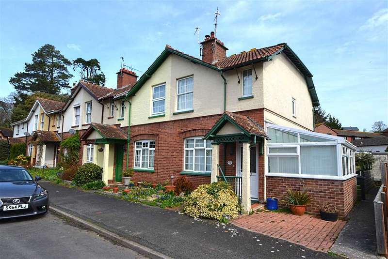 2 Bedrooms End Of Terrace House for sale in Stonelands Terrace, Dawlish