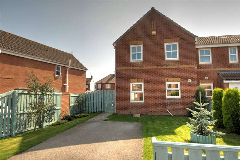 3 Bedrooms End Of Terrace House for sale in Central Grange, St. Helen Auckland, Bishop Auckland, DL14