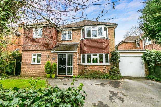 4 Bedrooms Detached House for sale in Farnham, Surrey, Heath End