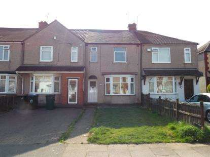 3 Bedrooms Terraced House for sale in Warden Road, Radford, Coventry, West Midlands