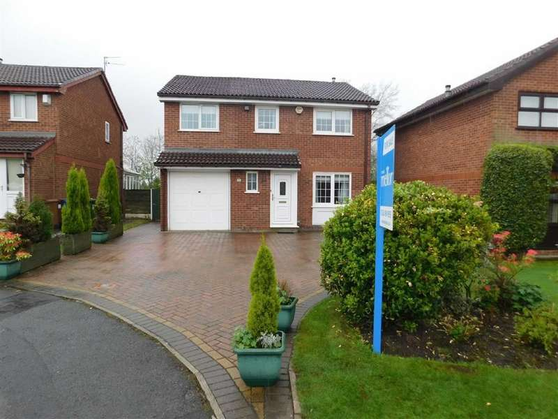 4 Bedrooms Detached House for sale in Wheatfield Close, Bredbury, Stockport
