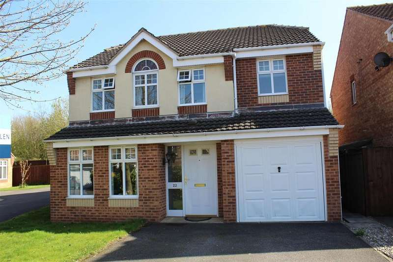 4 Bedrooms Detached House for sale in Bayford Drive, Newark