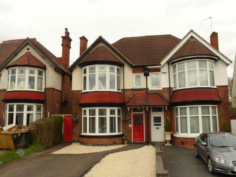 4 Bedrooms Semi Detached House for sale in Holly Lane, Erdington