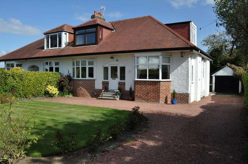 4 Bedrooms Semi Detached Bungalow for sale in Larchfield Avenue, Newton Mearns, Glasgow, G77