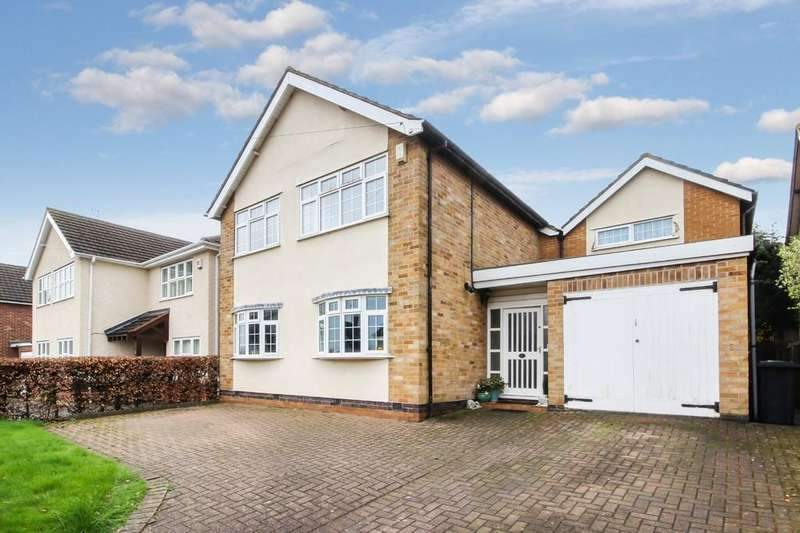 4 Bedrooms Detached House for sale in Langley Drive, Kegworth