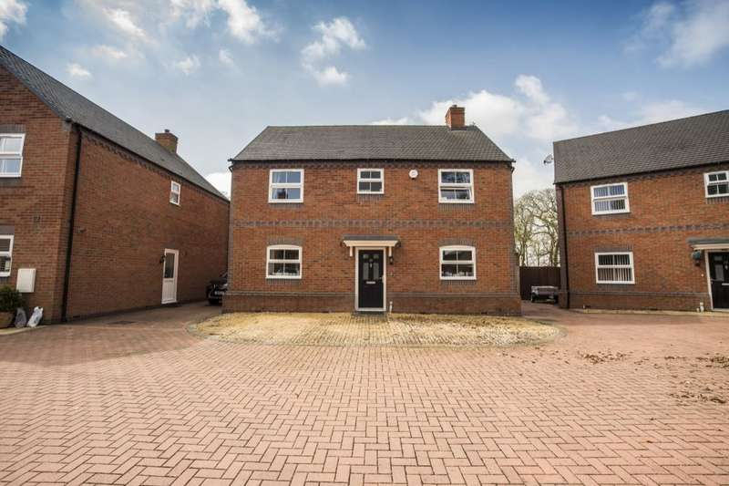 4 Bedrooms Detached House for sale in Bank House Gardens, Stoke-On-Trent, ST6