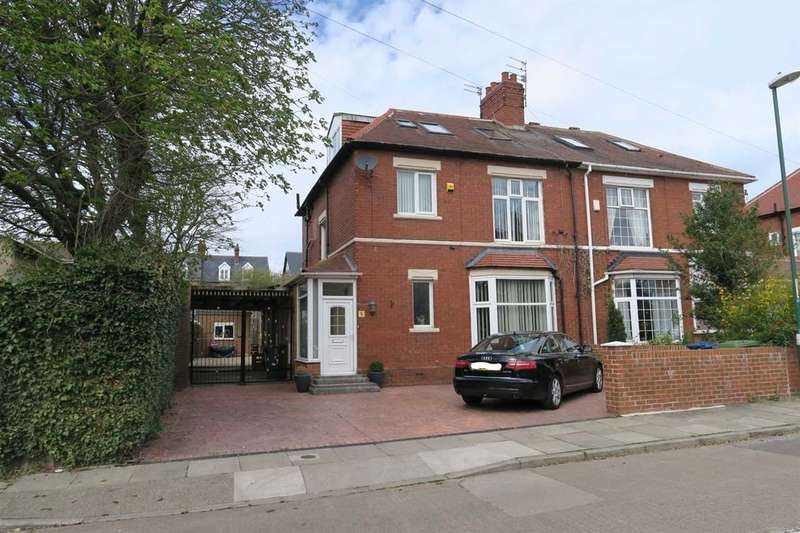 4 Bedrooms Semi Detached House for sale in Tynedale Road, South Shields