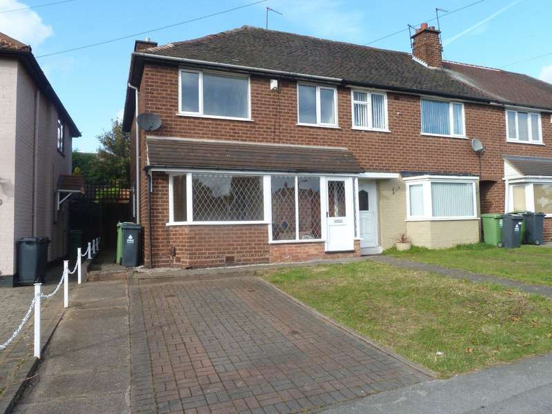3 Bedrooms End Of Terrace House for sale in Queslett Road, Pheasey Estate, Great Barr, Birmingham