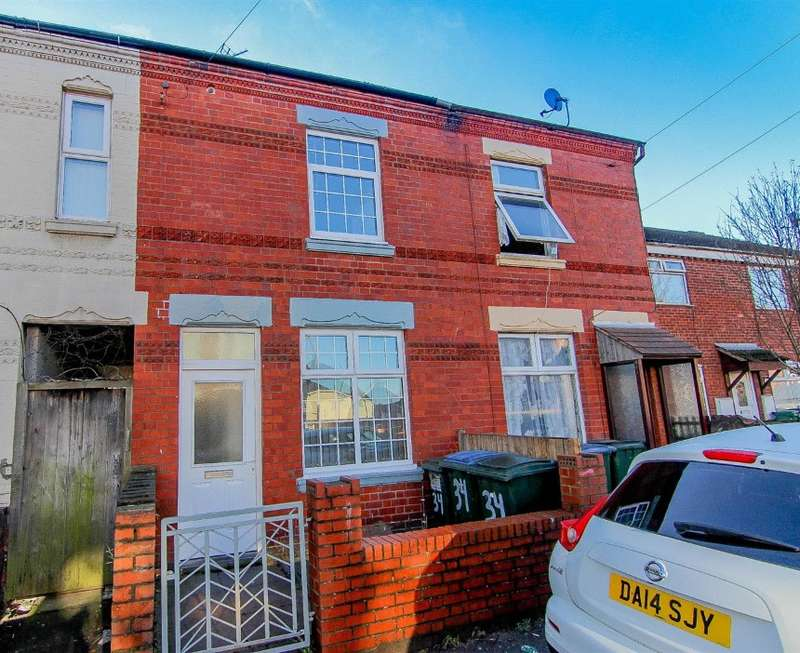 6 Bedrooms Terraced House for sale in Heath Road, Coventry, West Midlands, CV2 4PW