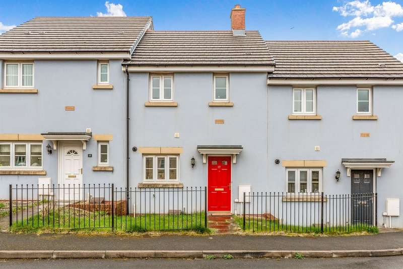 2 Bedrooms Terraced House for sale in Ffordd Y Grug, Coity, Bridgend