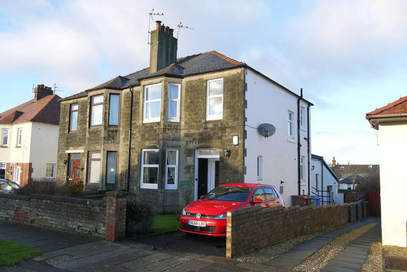 3 Bedrooms Semi Detached House for sale in Kingscroft Road, Prestwick, KA9