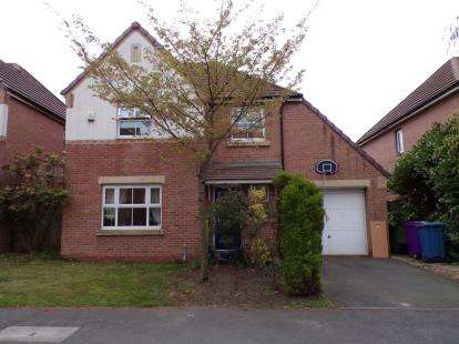 4 Bedrooms Detached House for sale in Teignmouth Close, Cressington Heath, Liverpool, Merseyside, L19
