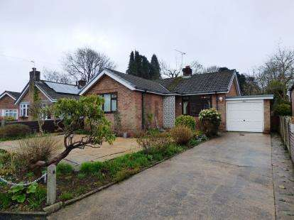2 Bedrooms Bungalow for sale in Bollinbarn, Macclesfield, Cheshire