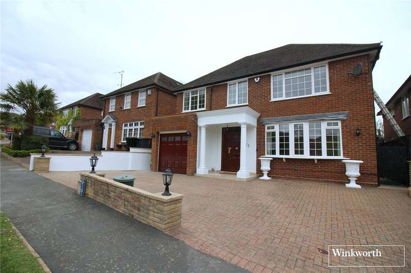 4 Bedrooms Detached House for sale in Hartfield Avenue, Elstree, Borehamwood, Hertfordshire, WD6