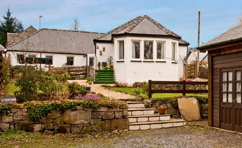 3 Bedrooms Equestrian Facility Character Property for sale in Strachan, Burnfoot, New Galloway, Castle Douglas, Dumfries and Galloway, DG7