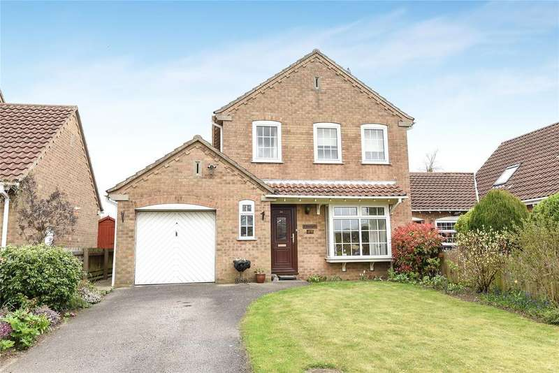 3 Bedrooms Link Detached House for sale in Cumberland Avenue, Wellingore, LN5