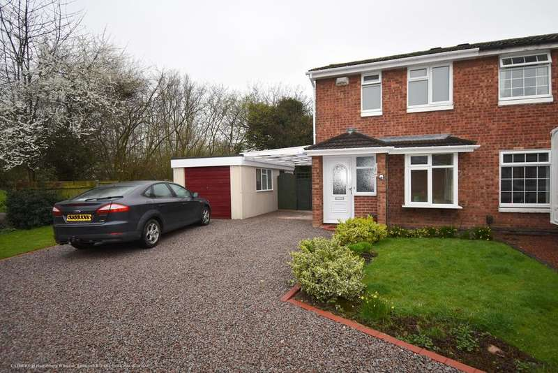 2 Bedrooms Semi Detached House for sale in Hartleyburn, Wilnecote, B77 4BL